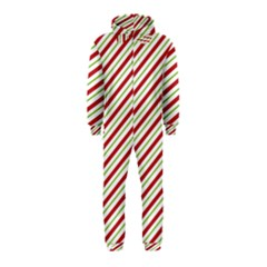 Stripes Striped Design Pattern Hooded Jumpsuit (Kids)