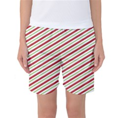 Stripes Striped Design Pattern Women s Basketball Shorts