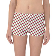Stripes Striped Design Pattern Reversible Bikini Bottoms