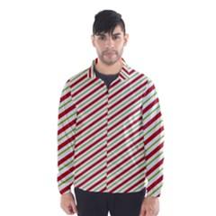 Stripes Striped Design Pattern Wind Breaker (men)