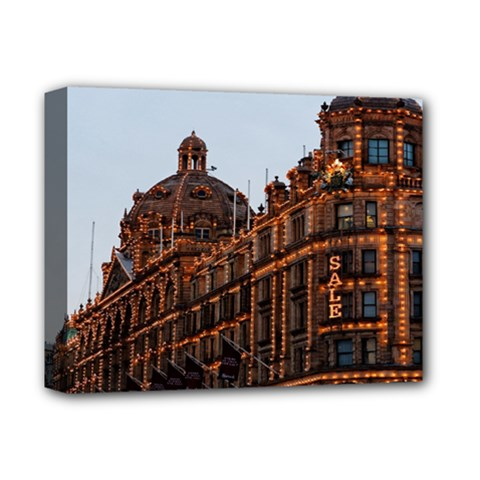 Store Harrods London Deluxe Canvas 14  X 11