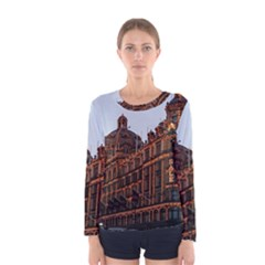 Store Harrods London Women s Long Sleeve Tee