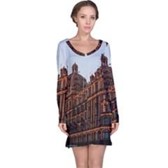 Store Harrods London Long Sleeve Nightdress