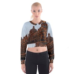 Store Harrods London Women s Cropped Sweatshirt
