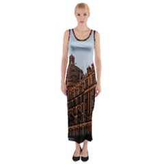 Store Harrods London Fitted Maxi Dress