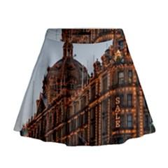 Store Harrods London Mini Flare Skirt