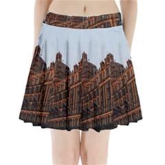 Store Harrods London Pleated Mini Skirt