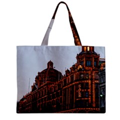 Store Harrods London Medium Zipper Tote Bag