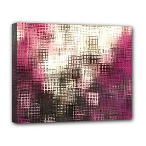Stylized Rose Pattern Paper, Cream And Black Deluxe Canvas 20  X 16