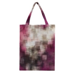 Stylized Rose Pattern Paper, Cream And Black Classic Tote Bag