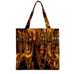 Sylvester New Year S Eve Grocery Tote Bag