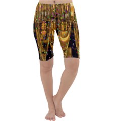 Sylvester New Year S Eve Cropped Leggings