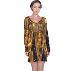 Sylvester New Year S Eve Long Sleeve Nightdress