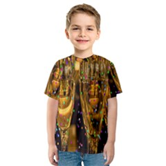 Sylvester New Year S Eve Kids  Sport Mesh Tee