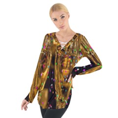 Sylvester New Year S Eve Women s Tie Up Tee