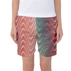 Texture Digital Painting Digital Art Women s Basketball Shorts