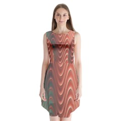 Texture Digital Painting Digital Art Sleeveless Chiffon Dress