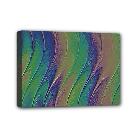 Texture Abstract Background Mini Canvas 7  x 5