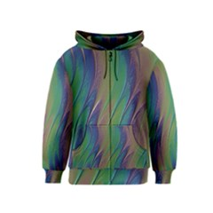 Texture Abstract Background Kids  Zipper Hoodie