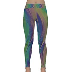 Texture Abstract Background Classic Yoga Leggings
