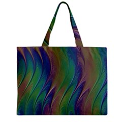 Texture Abstract Background Zipper Mini Tote Bag