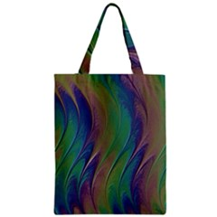 Texture Abstract Background Zipper Classic Tote Bag