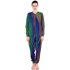 Texture Abstract Background Onepiece Jumpsuit (ladies)
