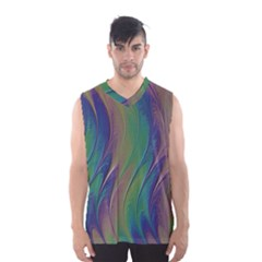 Texture Abstract Background Men s Basketball Tank Top