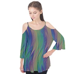 Texture Abstract Background Flutter Tees