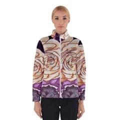 Texture Flower Pattern Fabric Design Winterwear