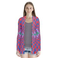 Texture Fabric Textile Jute Maze Cardigans
