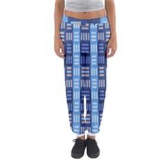 Textile Structure Texture Grid Women s Jogger Sweatpants