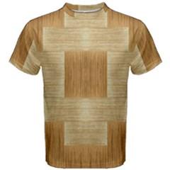 Texture Surface Beige Brown Tan Men s Cotton Tee
