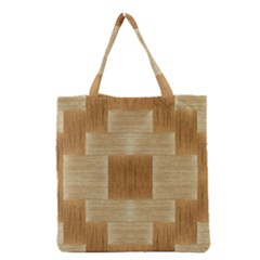 Texture Surface Beige Brown Tan Grocery Tote Bag