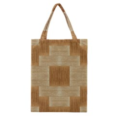 Texture Surface Beige Brown Tan Classic Tote Bag