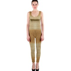 Texture Surface Beige Brown Tan OnePiece Catsuit