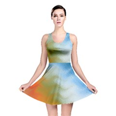 Texture Glass Colors Rainbow Reversible Skater Dress