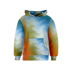 Texture Glass Colors Rainbow Kids  Pullover Hoodie