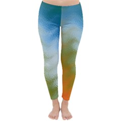 Texture Glass Colors Rainbow Classic Winter Leggings