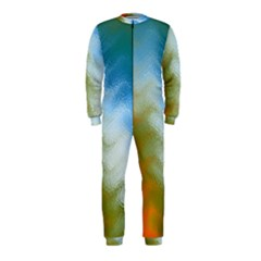 Texture Glass Colors Rainbow Onepiece Jumpsuit (kids)
