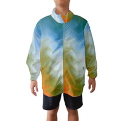 Texture Glass Colors Rainbow Wind Breaker (Kids)