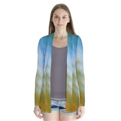 Texture Glass Colors Rainbow Cardigans
