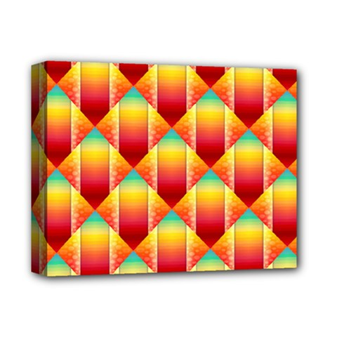 The Colors Of Summer Deluxe Canvas 14  X 11
