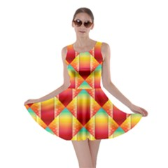 The Colors Of Summer Skater Dress