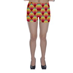 The Colors Of Summer Skinny Shorts
