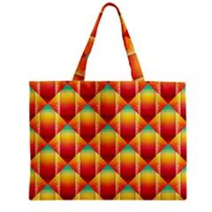 The Colors Of Summer Zipper Mini Tote Bag