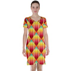 The Colors Of Summer Short Sleeve Nightdress