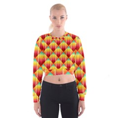 The Colors Of Summer Women s Cropped Sweatshirt