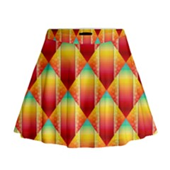 The Colors Of Summer Mini Flare Skirt