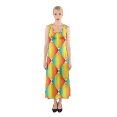 The Colors Of Summer Sleeveless Maxi Dress